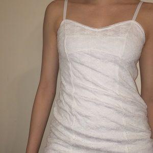 princess polly white mini dress